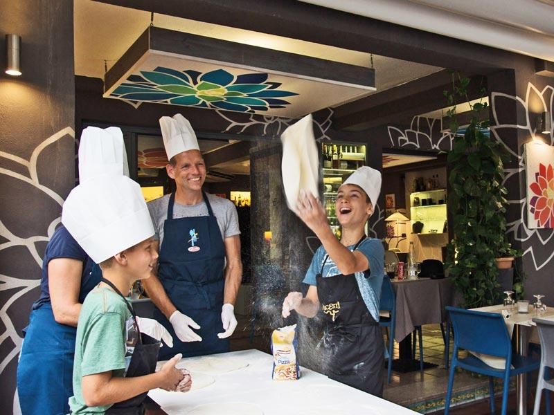 Ätna Tour Pizza-Kochkurs Ausflug