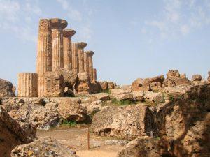 Agrigent Tal der Tempel Ruinen Sizilien