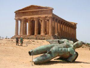 Agrigent Tal der Tempel Sizilien