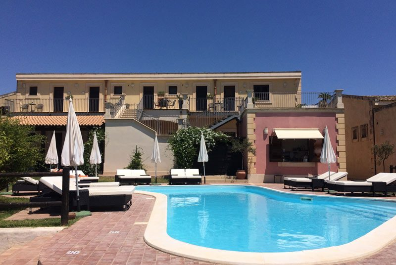 Sizilien Unterkunft mit Pool Avola