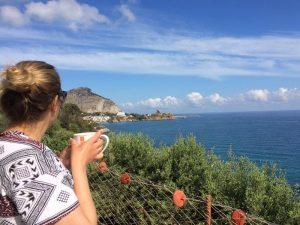 Hafen Cefalu Sizilien Familienurlaub