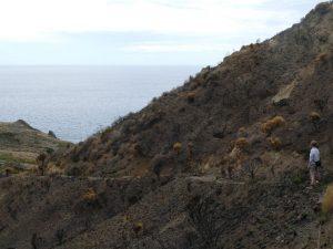 Italien Sizilien Liparische Inseln Wanderung