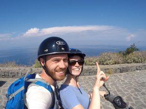 Vespatour Salina Sizilien Liparische Inseln