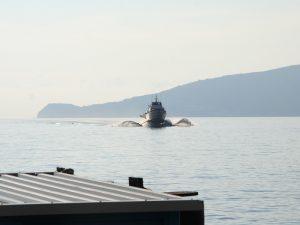 Die Fähren zu den liparischen Inseln sind Flügelboote.