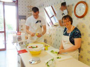 Lecce Urlaub Apulien Kochkurs Italien