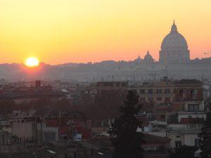 Rom Reise Hauptstadt Italien Petersdom