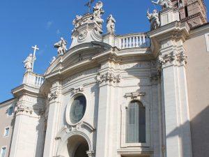 Italien Reise Rom Kloster Unterkunft