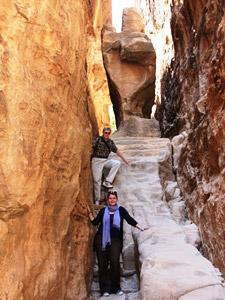 Erkunden Sie Siq al Barid, das auch Klein Petra genannt wird
