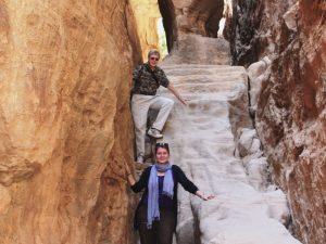 Felsenstadt Petra Erkunden Sie Siq al Barid, das auch Klein Petra genannt wird