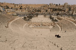 Jordanien Highlights - Amphitheater Amman