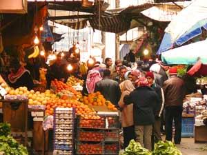 Jordanien Amman ist eine bunte Stadt
