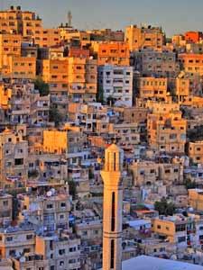 Ausblick auf das verwinkelte Amman