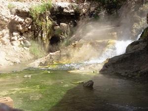 Nehmen Sie ein warmes Bad in den Quellen von Hammamat Ma'In.