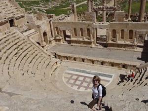 Von Amman aus erkunden Sie die Römerstadt Jerash