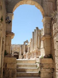 Sie unternehmen einen Ausflug nach Jerash