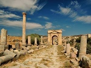 Jerash war einst eine imposante, römische Handelsstadt
