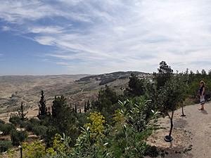 Genießen Sie die herrliche Aussicht am Mount Nebo