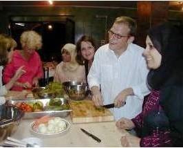 Zusammen jordanische Gerichte kochen - spannend!