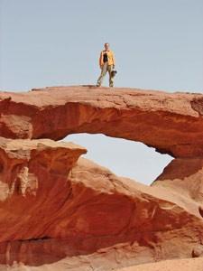 Sie unternehmen eine abwechslungsreiche Tour durch die Wüste