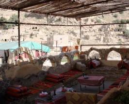 Dachterrasse der Unterkunft
