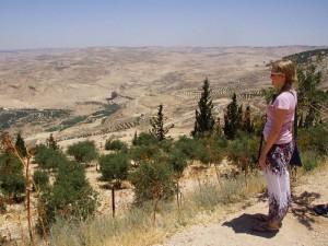 Rundreise Jordanien Genießen Sie vom Mount Nebo aus eine tolle Aussicht