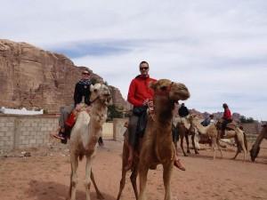 kamelritt im wadi rum