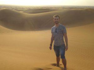 Reisespezialist David in Jordanien