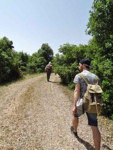 Wanderung im Ajloun Reserve