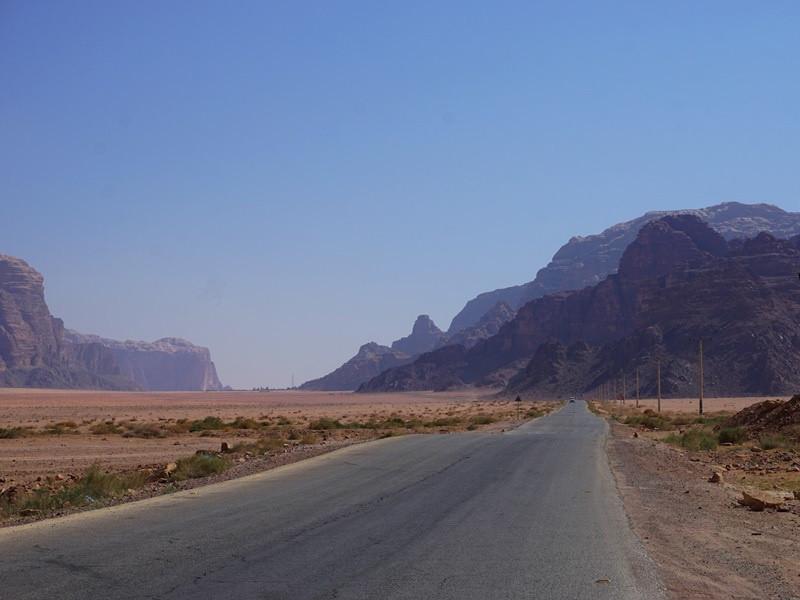 Warum nach Jordanien reisen? Kurze Strecken