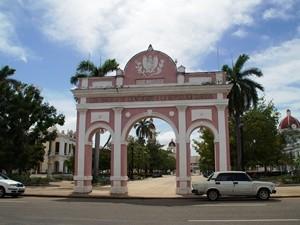 Platz in Cienfuegos