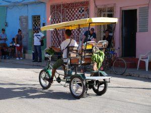 Kuba Busrundreise Trinidad Bici-Taxi