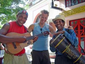 Musiker in Trinidad bei Kuba Reise