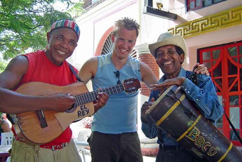 Musiker in Trinidad