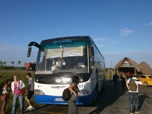 Mit dem Linienbus unterwegs auf Kuba