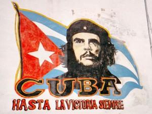 Che Bild zum Abschied von Kuba