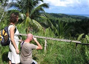 Paar macht Foto in Baracoa