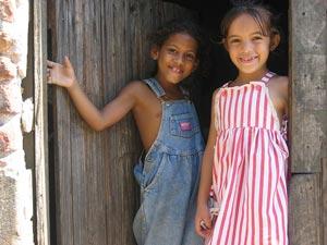 Gastgeschenke für die Kinder auf Kuba