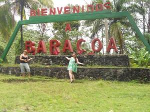 Schild in Baracoa
