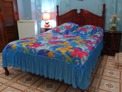 Zimmer einer Casa in Havanna
