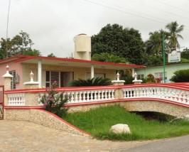 Blick auf eine Casa in Soroa