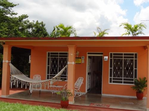 Blick auf eine Casa in Vinales