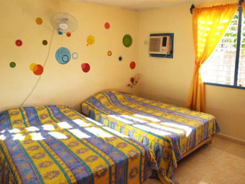 Zimmer in einer Casa in Playa Larga