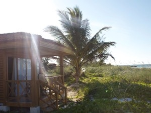 Bungalow am Strand von Cayo Levisa