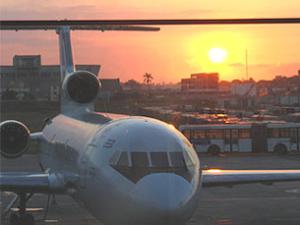 Flugzeug Airport Varadero