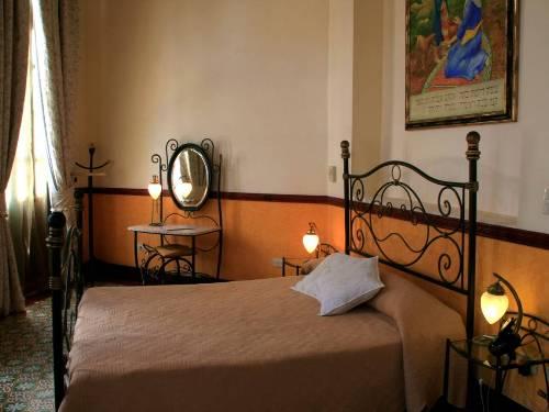 Stilvolles Zimmer im Nostalgiehotel