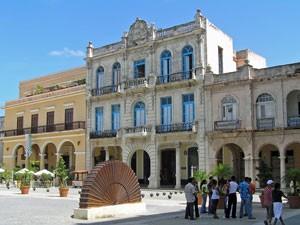 Zentraler Platz in Havanna Vieja