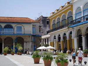 Kuba 3 Wochen Havanna Vieja Plaza