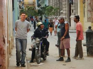 Kuba Reiseberichte - Kubaner in Havanna