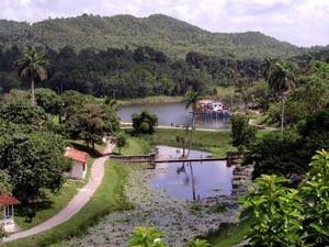 Las Terrazas - Blick auf das Tal