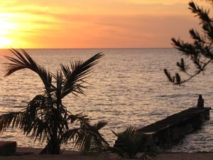 Sonnenuntergang in Maria la Gorda